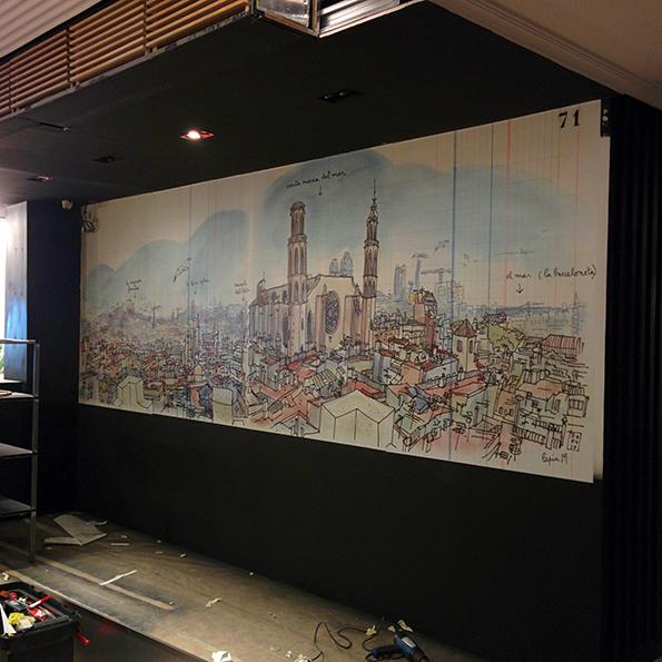 Mural en Vinilo - UVRotulacion para Lapin Ilustrador