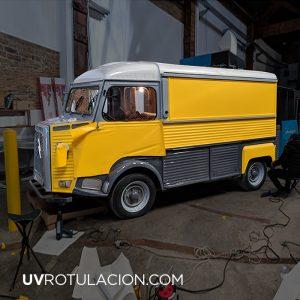 Rotulación de Food Truck en Barcelona