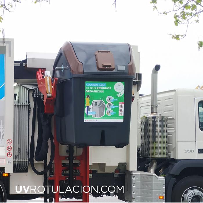 Vinilos para Contenedores de Residuos